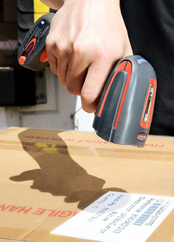 Handheld Barcode Scanner: Imprint Enterprises