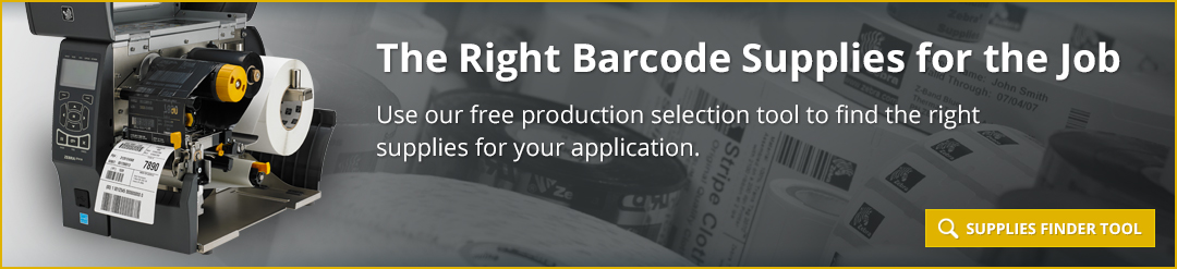 The Right Barcode Supplies for the Job