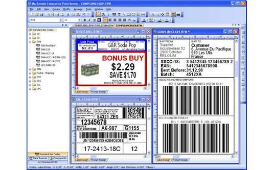 Barcode Label Design: Imprint Enterprises