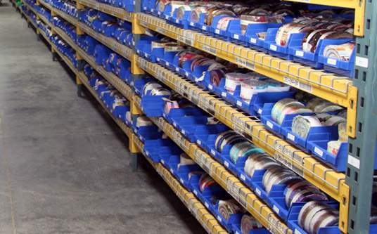 Warehouse Bin Labels: Imprint Enterprises
