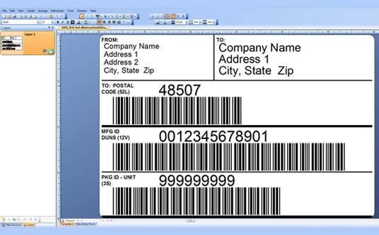 Custom Label Design: Imprint Enterprises