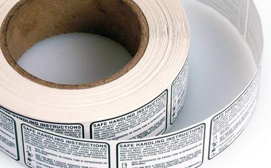 Dissolvable Product Labels: Imprint Enterprises
