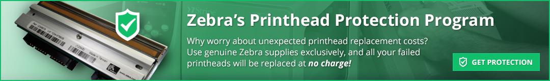 Zebra Printhead Protection Program: Imprint Enterprises