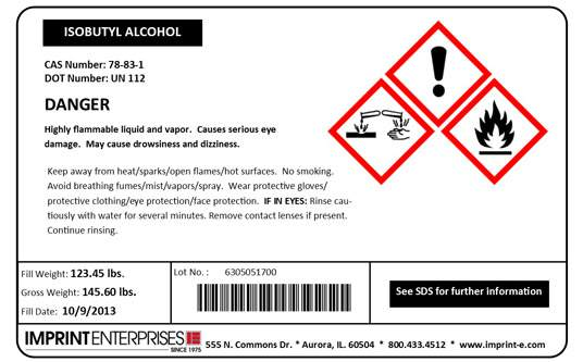 Regulatory Labeling: Imprint Enterprises