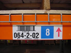 Warehouse Rack Labels: Imprint Enterprises
