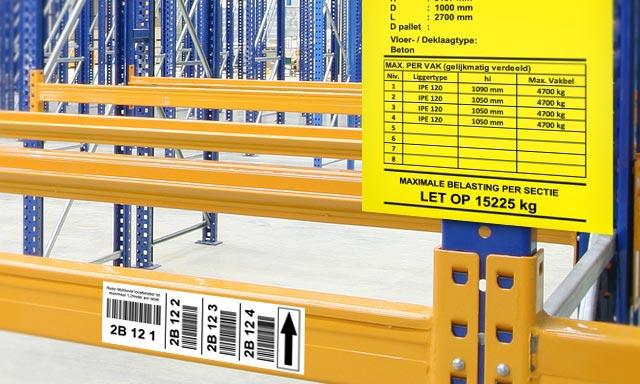 Warehouse Hanging Signs: Imprint Enterprises