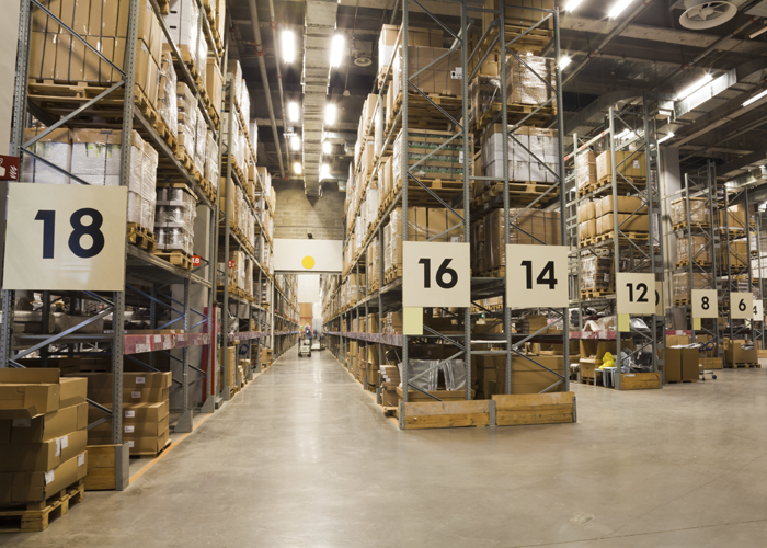 Warehouse Aisle Signs Imprint Enterprises