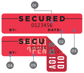 Tamper-Proof Security Labels