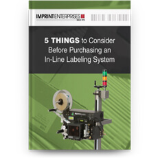 5 Things to Consider Before Purchasing an In-Line Labeling System