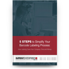 5 Steps to Simplify Your Barcode Labeling Process eBook