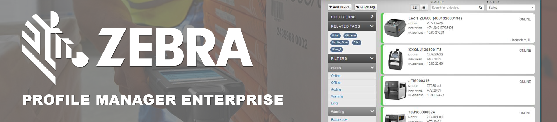 Zebra's Printer Profile Manager Enterprise - Imprint Enterprises